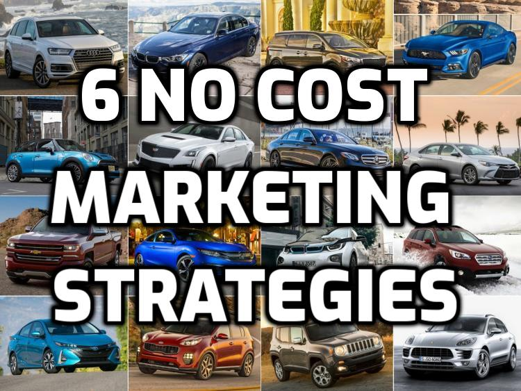 6 No Cost Marketing