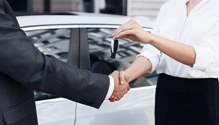 car dealership customer
